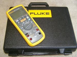 Fluke 1587 Fc Phase Rotation Meter 2 in 1 Motor Drive Kit With 9040 I400