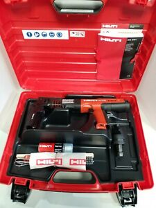 Hilti Dx 351 Powder Actuated Nail Gun Includes Mx Me Head New In Case