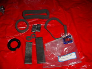 1955 1956 Chevy Chevrolet Bel Air Nomad 210 322 Heater Seals Deluxe Kit New