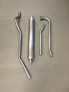 1948 51 Kaiser Frazer 6 Cylinder Complete Factory Correct Single Exhaust System