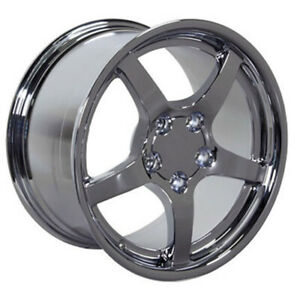 Chrome Wheel 17x9 5 For 1993 2002 Chevy Camaro Owh0275