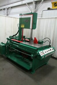 20 X 21 Doall Tf 2021m Vertical Band Saw Yoder 65315