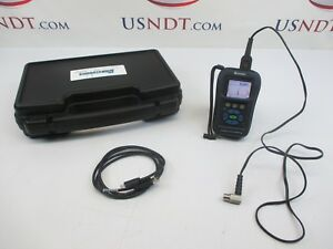 Danatronics Dhc 09dlcw Thickness Gage Ultrasonic Flaw Detector Ndt Olympus Ge