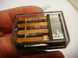 Lot Of 40 Fujitsu 12v 4pdt Relay s Fbr442nd012 21 New And Unused