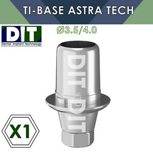1 X Dental Ti base With Hex Compatible Astra Tech 3 5 4 0mm Dental Implants
