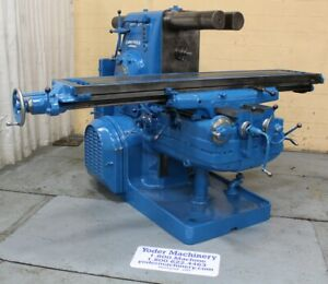 5 Kearney Trecker Plain Horizontal Mill Yoder 63577