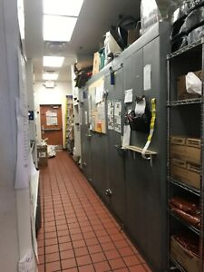 Norlake Walk in Cooler And Freezer Combo Used