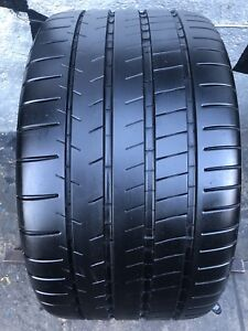 One Used 305 30zr20 Michelin Pilot Super Sport 8 5 32 Tread Life