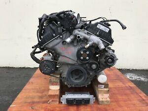 2011 Ford Mustang Coupe 3 7l V6 81k Miles Complete Engine Used