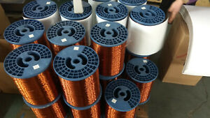 Magnet Wire 18 Awg Gauge Enameled Copper 200c 2 5lb 500ft Lowest Price
