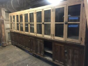 Antique Arts And Craft Cabinets From Detroit