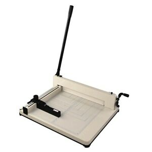 400 A3 Sheet Capacity 17 Cutting Length Industrial Guillotine Paper Trimmer