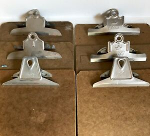 Clipboards Lot 6 Vtg A w National Quill 9 X 12 15 Wall Hang Picture Frames