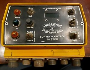 Trimble Spectra Physics Laserplane Cb3etd Analog Mast Machine Control Box