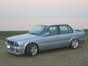 Bmw E30 Body Kit 89 92 M tech Ii Style Add on With Side Panels Non Convertible