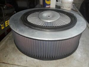 K N14 Dia 4 Tall Air Cleaner For Holley 4 Barrel X Tream Insert