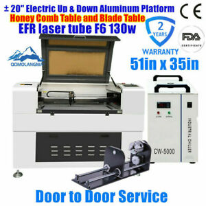 Us Stock 1250w 110v 51 X 35 1390 Luxury Laser Engraving And Cutter Engraver