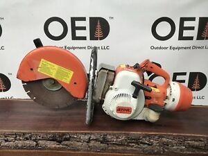 Stihl Ts350 Av Super Concrete Cut off Saw Solid Quickie Saw Ships Fast