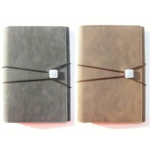 Leather Classic Vintage Office School Spiral Stationery Notebook Agenda Planner