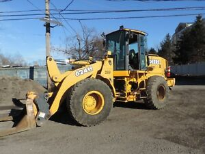 2003 John Deere 624h Wheel Loader