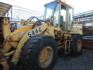 1996 John Deere 544g Wheel Loader 2000 Hours
