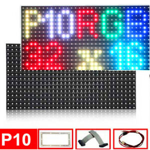 P10 Outdoor Full Color Led Display Video Module 320x160mm Smd 3535 Rgb Led Panel