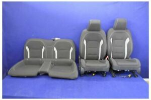 2016 2017 2018 Chevrolet Camaro Ss Cloth Coupe Oem Seats Front Rear Hot Rod