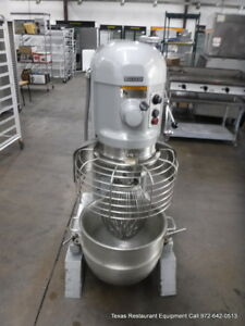 Hobart H 600t Bakery Donut Pizza Dough Mixer 60 Qt W Bowl Whip