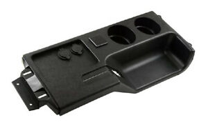 New 1987 1993 Ford Mustang Center Console Cup Holder With Usb Port Black