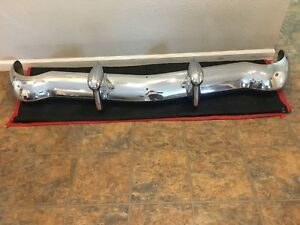 1949 Cadillac Front Bumper W Guards
