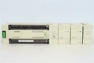 Mitsubishi Melsec Fx2n 64mr ds Programmable Controller With 4 Modules