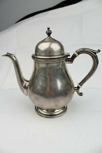 Vintage Estate Sterling Silver Exemplar S3 Circa 1714 1727 Tea Pot