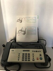 Hp 640 Plain Paper Inkjet Fax Machine Phone W Manual User Guide Pre owned