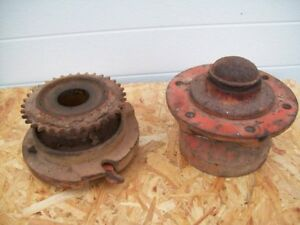 Allis Chalmers 333 Corn Planter Wheel Hub And Drive Clutch Assembly