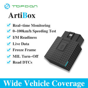 Us Obdii Elm327 Auto Scan Tool Car Bluetooth Reader Topdon Phone App Launch X431