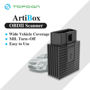 Professional Obdii Auto Scan Bluetooth Diagnostic For Iphone Android Ios Topdon