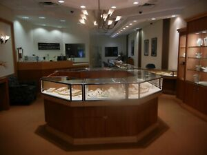 Jewelry Store Showcases