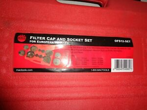 Mac Tools 0fs12 Set 12pc European Cap And Socket Set New In Box
