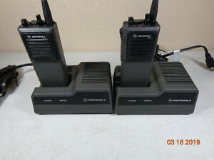 Motorola Mtx800 Mtx H25jkh51c5an Radio W charger ant battery Lot 2 c53