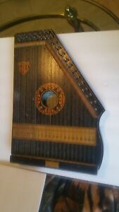 Vintage Marx Marx Liberty Harp Hand Made Musical Instrument 1880s Chicago Usa