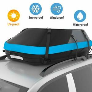 Stdy 20 Cubic Feet Rooftop Cargo Top Carrier Bag Travel Cargo Bag Box Storage Lu
