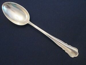 Serving Spoon Vintage Mh Wilkens Sohne 800 Silver Chippendale Pattern Lovely