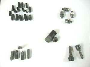 Mixed Lot Aircraft Tools Magnavon Drill Collets 4 Tips Inner