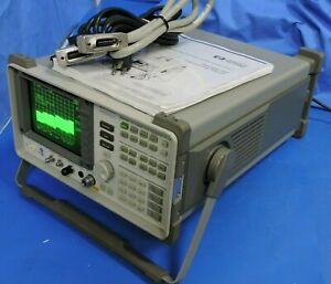 Hp 8562a Spectrum Analyzer 1khz 22ghz With Manual Guide Gpib Cable Calibrated