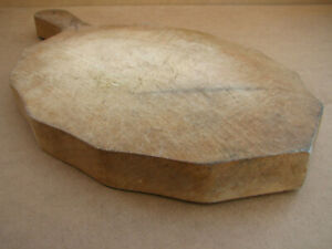 Old Vintage Wooden Bread Cutting Board Dough Kitchen Plate Plank Rustic Decor
