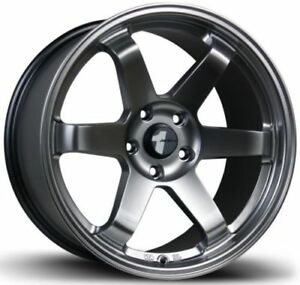 Avid1 Av06 17x9 42 5x114 3 Full Hyper Black Concave Set Of 4