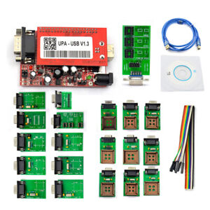 Software Vesion V1 3 New Upa Usb Programmer With Full Adaptors With Nec Function