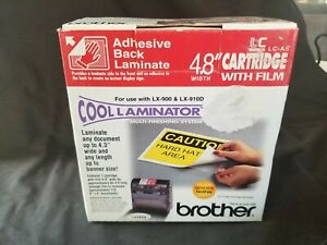 Brother 4 8 Cool Laminator Lc a5 Cartridge W film Adhesive Back Laminate
