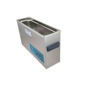 Crest P1200h 45 Ultrasonic Cleaner heat Timer 2 5 Gal