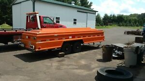 Utility Hot Stick Trailer Tools And Equipment Job Storage Enclosed Weatherproof